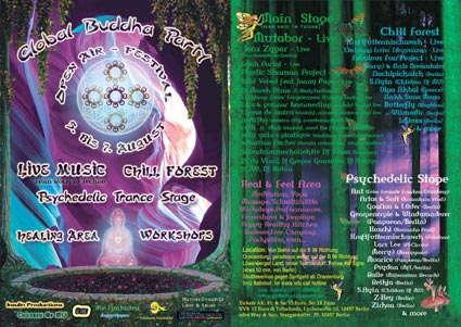 Global Buddha Party - Open Air - Healing Festival 5 Aug '05, 18:00