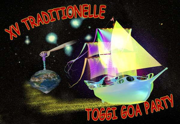 Party Flyer XV. Traditionelle Toggi Goa Party 3 Sep '05, 22:00
