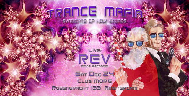 Party Flyer TRANCE MAFIA syndicate of holy sounds 24 Dec '05, 23:00