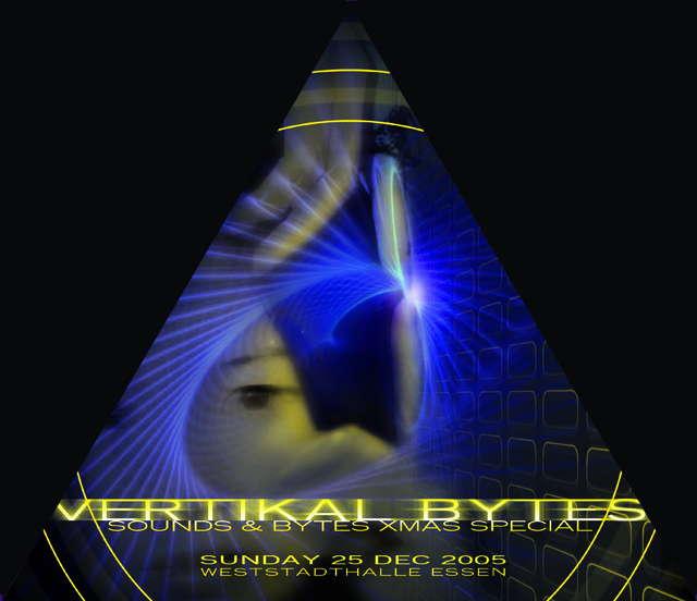 Party Flyer ELEMENT ALBUM RELEASE PARTY *SOUNDS & BYTES X-MAS SPECIAL* 25 Dec '05, 22:00