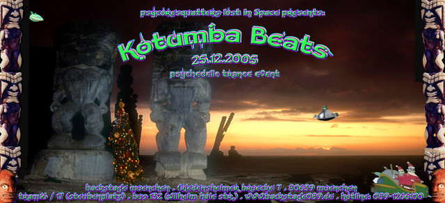 Party Flyer Kotumba Beats 25 Dec '05, 22:00