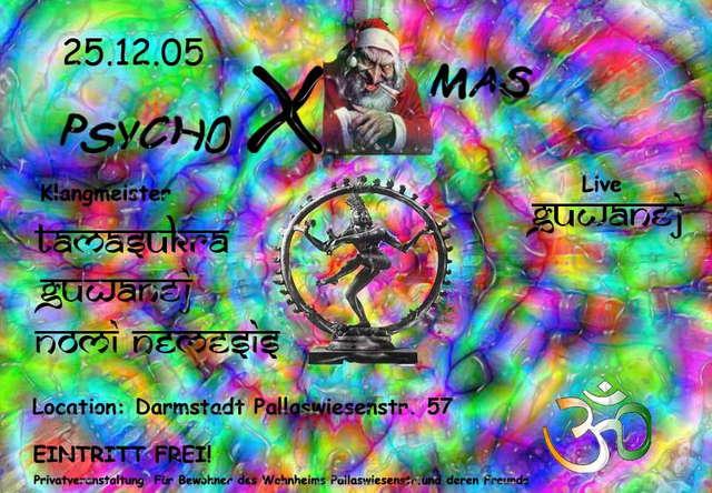 Party Flyer Psycho X-Mas 25 Dec '05, 22:00