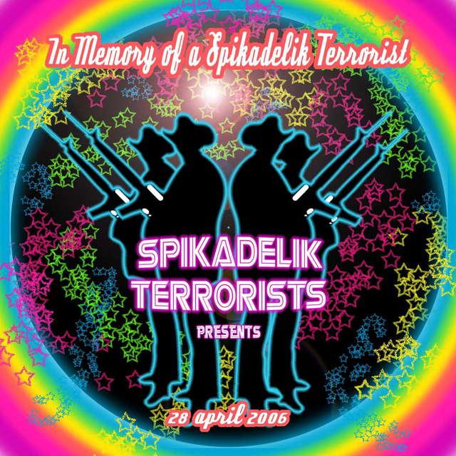 Party Flyer SPIKADELIK TERRORISTAS == MIDITEC LIVE 28 Apr '06, 22:00