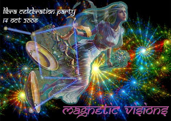 Party Flyer Libra Celebration Party 14 Oct '06, 22:00