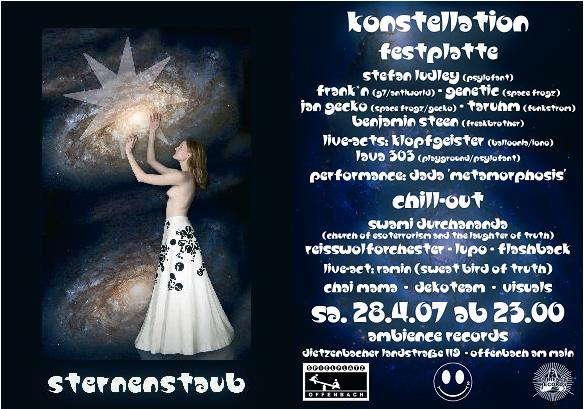 Sternenstaub Konstellation 28 Apr '07, 23:00