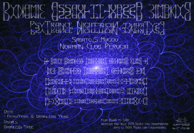 Party Flyer DYNAMIC ASSAULT 5 May '07, 23:00
