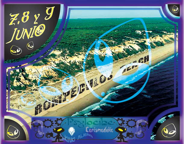 Party Flyer WELCOME TO................. ROMPECULOS BEACH 8 Jun '07, 22:00