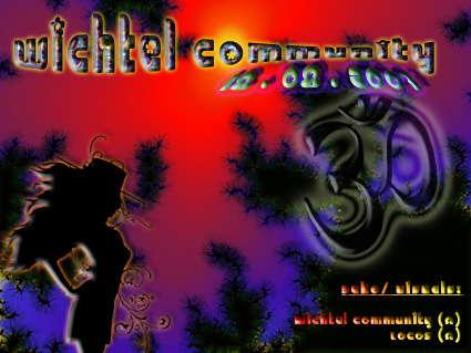 Party Flyer Wichtel-Community 18 Aug '07, 22:00