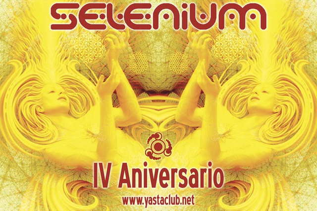 Party Flyer SELENIUM - IV ANNIVERSARY WITH TALAMASCA 27 Oct '07, 23:30