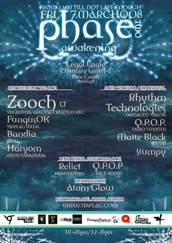 Phase 2 - Awakening AudioVisual Experience Legal Eagle 7 Mar '08, 22:00