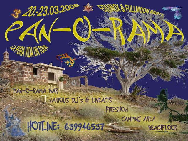 PAN-O-RAMA 20 Mar '08, 18:00