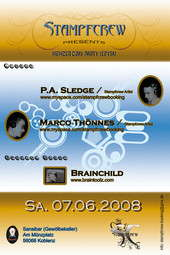 Party Flyer Stampfcrew presents Minimal meets Techno 7 Jun '08, 22:00