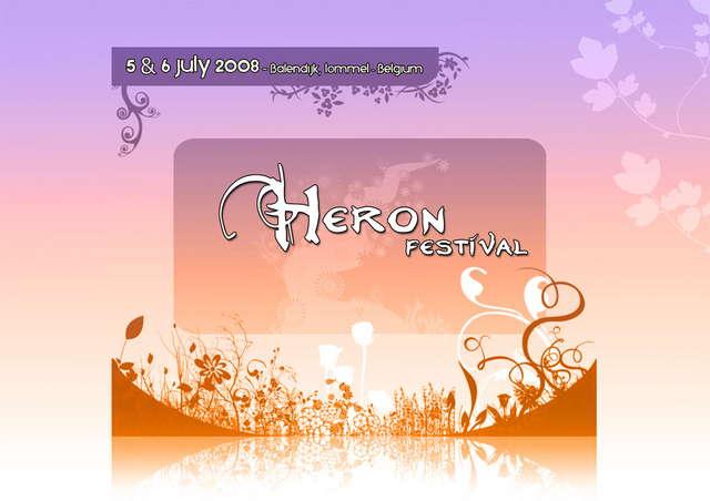 Party Flyer Heron Festival 2008 5 Jul '08, 14:00