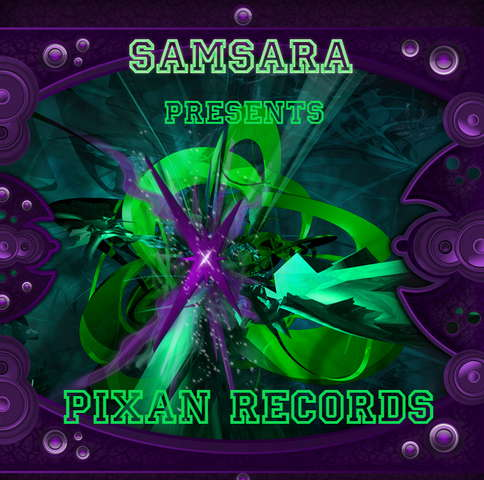 """Party Flyer ***SAMSARA***pres. PIXAN RECORDS """"Whats up PUSSY"""" 24 Oct '08, 22:00"""