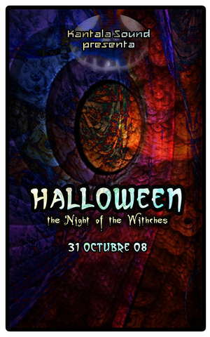 Party Flyer HALLOWEEN part 2 by Kantala Sound 1 Nov '08, 23:30