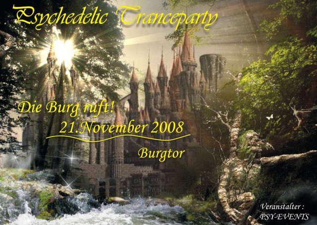 Die Burg ruft! 21 Nov '08, 22:00