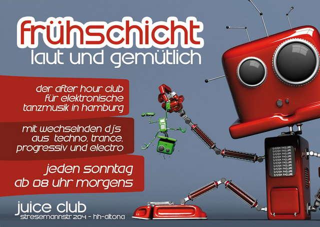 Frühschicht - Laut & Gemütlich 7 Dec '08, 08:00