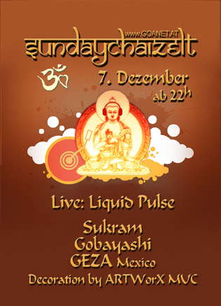 SUNDAYDRY!ZELT - Party with Heart! 7 Dec '08, 23:00