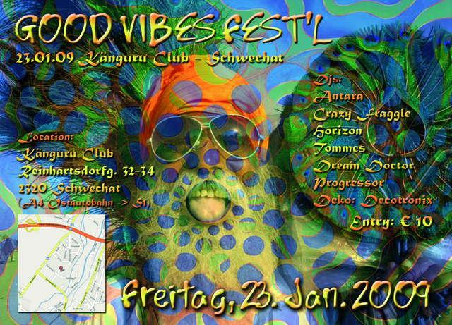 GoodVibeS Fest`L !!! OPEN END !!! 23 Jan '09, 22:00