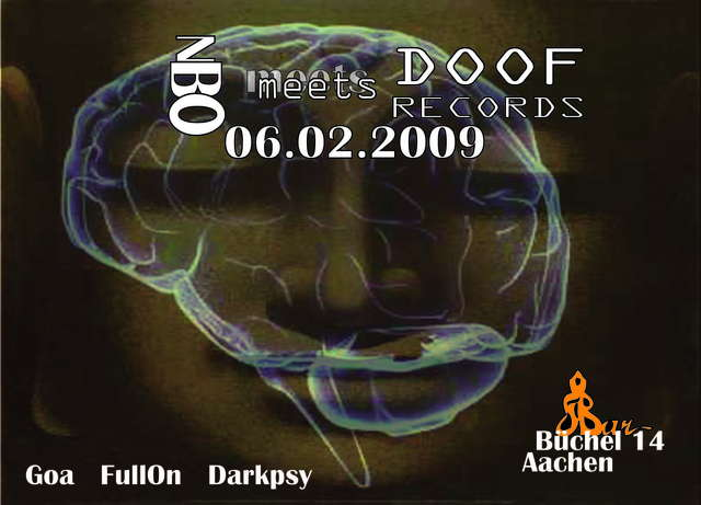 New Brain Order meets Doof Rec. 6 Feb '09, 22:00