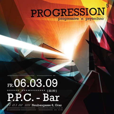 Party Flyer PROGRESSION 5 6 Mar '09, 22:00