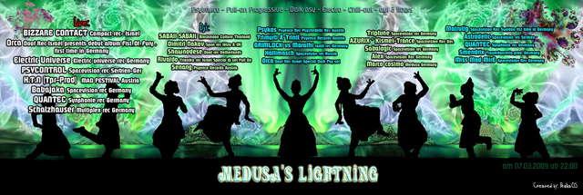 Medusa Indoor Festival BIZZARE CONTACT -ORCA-SABAII SABAII 7 Mar '09, 22:00