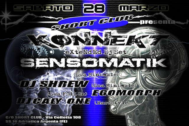 Party Flyer K O N N E K T 28 Mar '09, 23:30