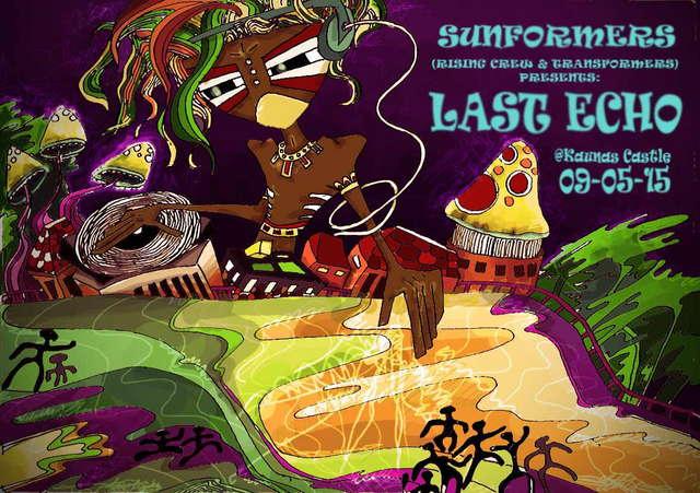 Party Flyer LAST ECHO @ Kaunas Castle 15 May '09, 22:00