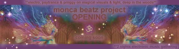 Party Flyer monca beatz project OPENING 29 May '09, 22:00