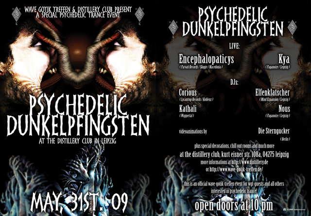 Psychedelic Dunkelpfingsten 31 May '09, 22:00