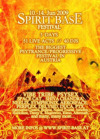 Spirit Base Festival 2009 - the last one in rauchenwarth 10 Jun '09, 14:00