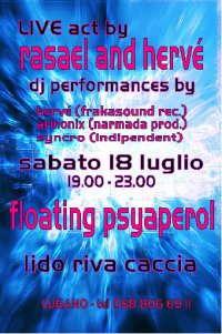 Party Flyer Floating Psyaperol 18 Jul '09, 18:30