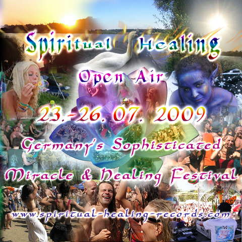 Party Flyer Spiritual Healing Open Air 2009 23 Jul '09, 18:00
