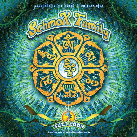 Party Flyer SchmoXFamily Club - Progressive Tunes Vol.2 - 25 Jul '09, 23:00