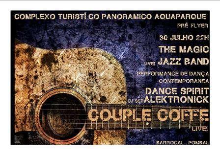 Party Flyer FESTA DE INÍCIO DAS ACTIVIDADES CULTURAIS DO AQUAPARQUE 30 Jul '09, 22:00