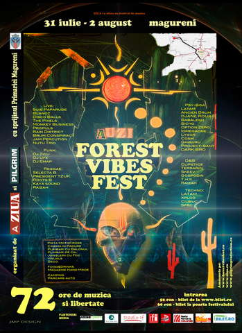 Party Flyer Forest Vibes Fest 31 Jul '09, 18:00