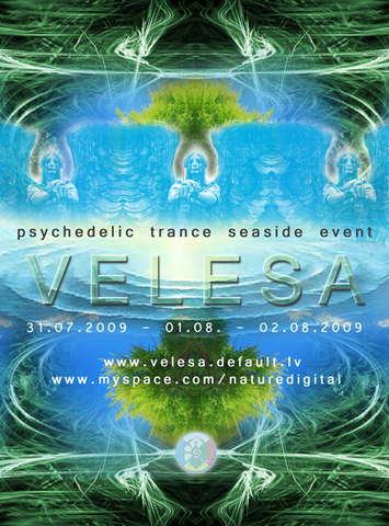 Party Flyer VELESA 2009 31 Jul '09, 20:00