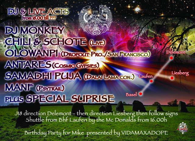 Party Flyer Area 51 presents MONDTANZ 1 Aug '09, 18:00