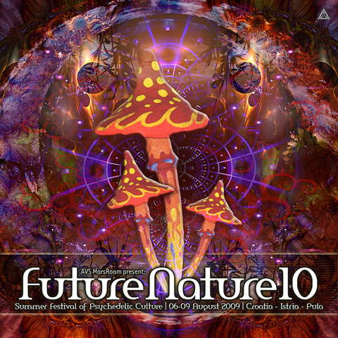 Party Flyer FUTURE NATURE 09 - Summer Festival of Psychedelic Culture 6 Aug '09, 12:00