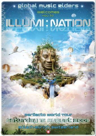 Party Flyer Illumi Nation 15 Aug '09, 22:00