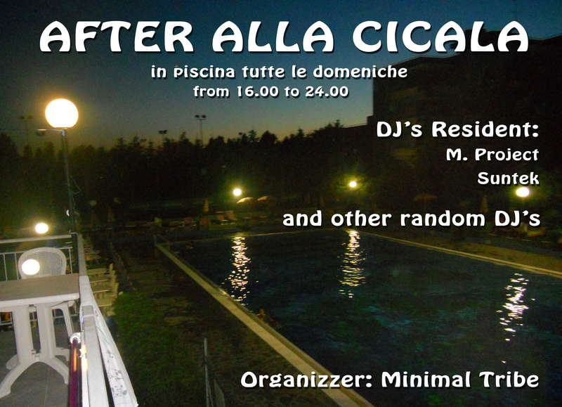 Party Flyer °°°AFTEr - MAGNETIKA - In PisCIna°°° 16 Aug '09, 16:00