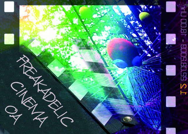 Party Flyer Freakadelic Cinema 22 Aug '09, 18:00