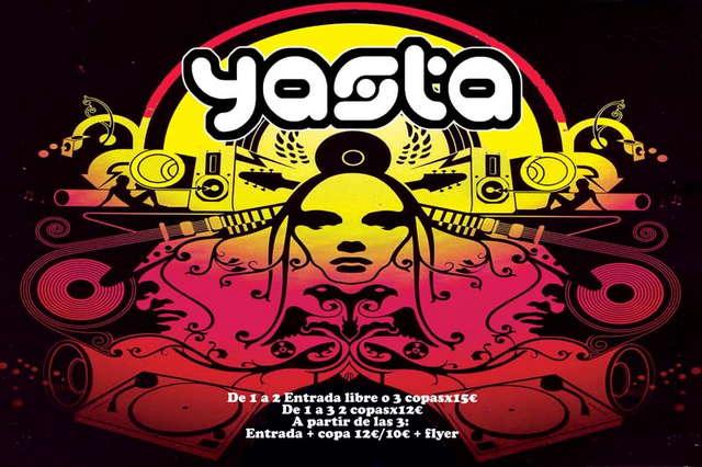 Party Flyer ...:::SELENIUM:::... Yastaclub. YARZA vs. LUCIA 29 Aug '09, 23:30