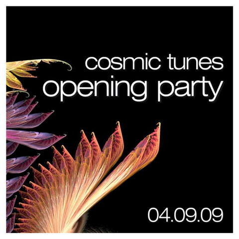 Party Flyer Cosmic Tunes - serious psytrance 4 Sep '09, 23:00