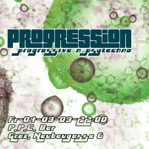 Party Flyer PROGRESSION 4 Sep '09, 22:00