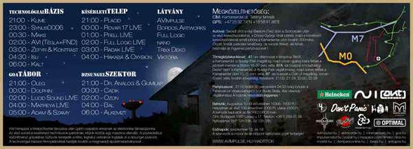Party Flyer Military Secret II. 5 Sep '09, 22:00