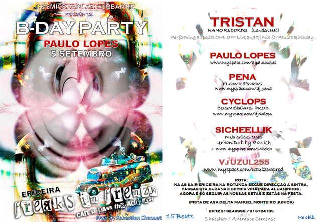 Paulo cego birthday party 5 Sep '09, 23:00