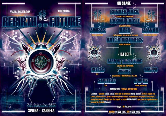 REBIRTH TO THE FUTURE 5 Sep '09, 23:30