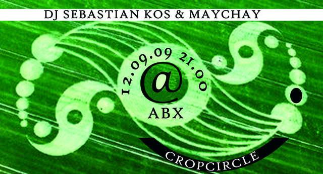 Party Flyer Cropcircle 12 Sep '09, 21:00