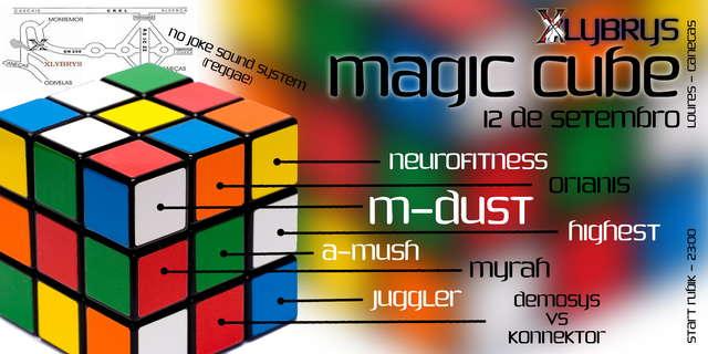 Party Flyer Magic Cube (SABADO NO XLYBRYS) 12 Sep '09, 23:30